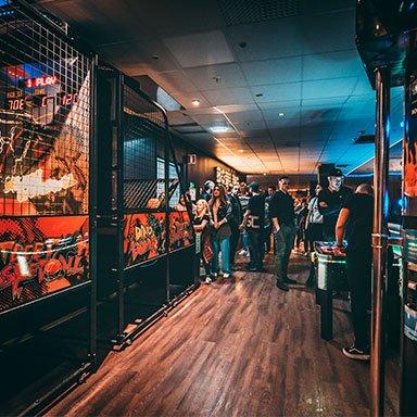 Arcade Växjö Event Center Knock em Down