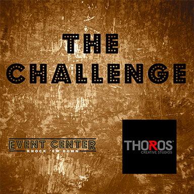 The Challenge Event Center Knock em Down